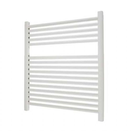 Abacus Elegance Linea Straight Towel Rail - 750mm x 600mm - White